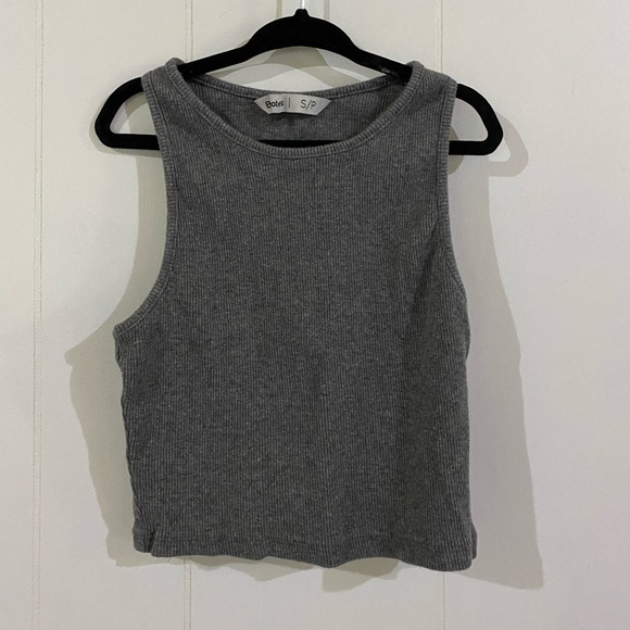 Bluenotes (S) Cropped Tank Top